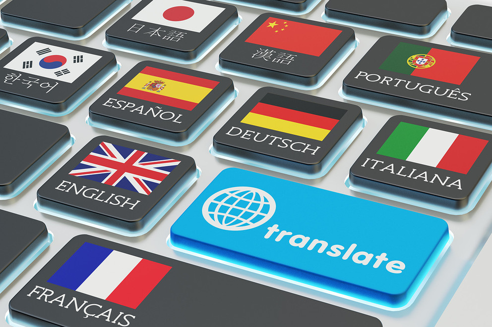 translating English into Arabic